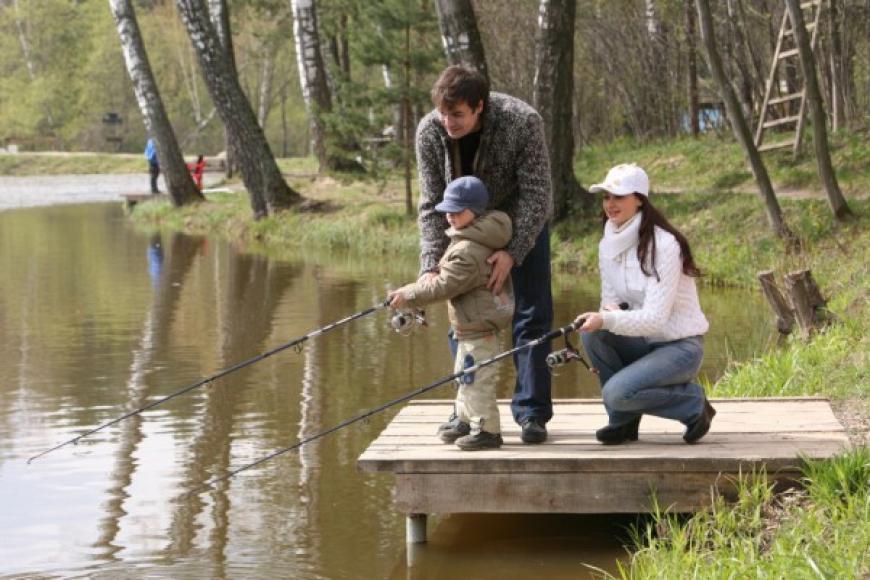 рыбалка на отдыхе играть